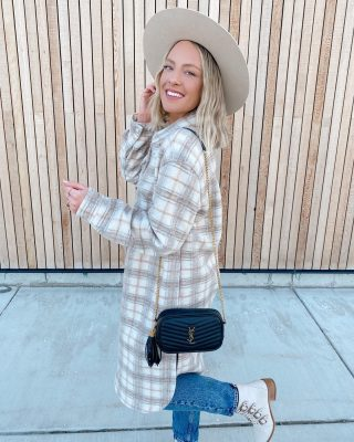 "I was a little late to the shacket trend- but I'm making up for lost time 😜 this one is pretty much the neutral shacket of my dreaaams 🙂 http://liketk.it/39OHd #liketkit @liketoknow.it have been spending a lot of time this week doing a program called #dnrs, essentially working on retraining my brain and starting to heal my limbic system! limbic system issues (like being in a state of ""fight or flight/ anxiety "" can happen with Lyme & is something I'm now working on healing. 🤍 have any of you heard of DNRS? I'll continue to update you as I've seen little benefits so far! Ps happy weekend beautiful gals! 🥰#weekendstyle #dnrs"