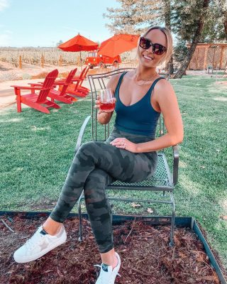 Yoga followed by a little wine this morning.🧘🏼‍♀️🍷 a very solid combo if you ask me! 😜 wearing the most comfortable leggings that don't budge during any / all workouts I've tried wearing them! from higher intensity to yoga. 🤍 http://liketk.it/2XrdI #liketkit @liketoknow.it @lululemon #wine #yoga #saturday