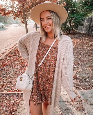 When the temperature drops into the 60's & you can actually start wearing all those cozy cardigans 😉🍁🍁🍁 I cant stop wearing this dress (under $30) and can be dressed up or down this season! http://liketk.it/2YebB #liketkit @liketoknow.it #ltkunder50 #ltksale #fallstyle #targetstyle #fallleaves #colors