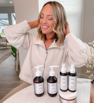 three month @bondiboost hair growth line update !! I LOVE these products and they really do work. my hair feels longer, thicker, healthier & all around better and I will definitely continue using them 🤍 they are such a hack for hair growth and just hair health in general 👏🏻 #bondiboostUS #boostyourroots #ad all clean too 