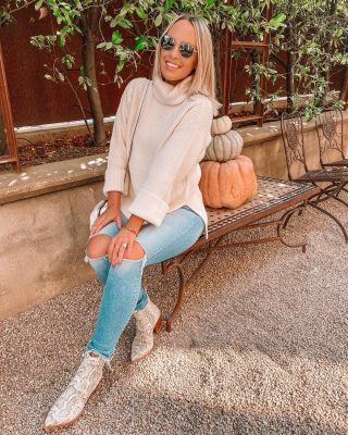 Ladies who lunch date today to kick off the weekend 🥰🎃🍁 wearing this COZY ivory sweater - it is truly buttery soft + a staple you can wear so many different ways and have for years to come! It's the prettiest ivory color - more on stories and will be doing a big sweater haul Monday! have the best weekend, beauties 😘 #liketkit http://liketk.it/2Ztmu @liketoknow.it I'll be taking it off social media so see you Monday! 😊#fallstyle #revolve #revolveme #healdsburg #lunchdate
